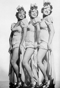 L to R: Etta Jones, Dorothy Dandridge, Vivian Dandridge