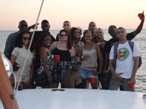 Good peoples, plus a party on a boat?  #yup!