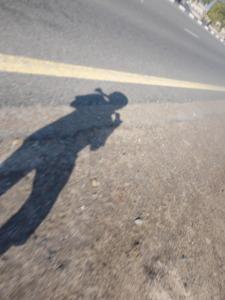 Jogging. In a desert. In Dubai. Alone. Why not.