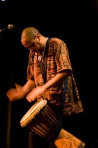 Dad performing at the 2009 Arcadia Showcase