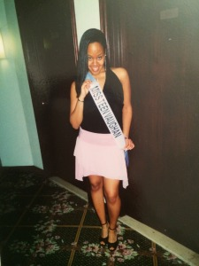 "Miss Teen Vaughan, in my ""fashion outfit"" =)"