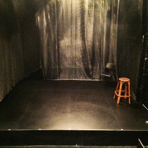 The stage. Sonnets for an Old Century was my first acting gig of the year.