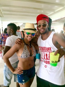With the homie Raff at Scorch DDI